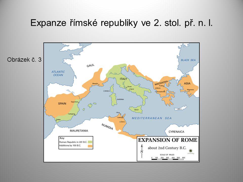 Expanze římské republiky ve 2. stol. př. n. l.