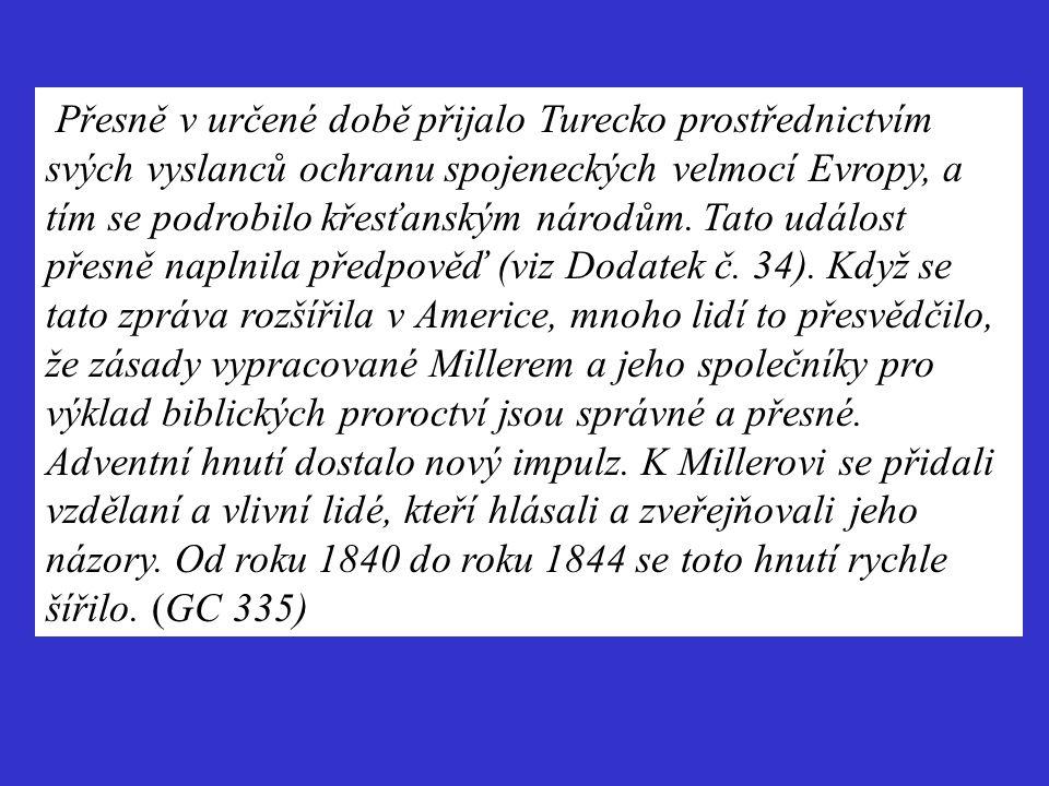 Přesně v určené době přijalo Turecko prostřednictvím svých vyslanců ochranu spojeneckých velmocí Evropy, a tím se podrobilo křesťanským národům.