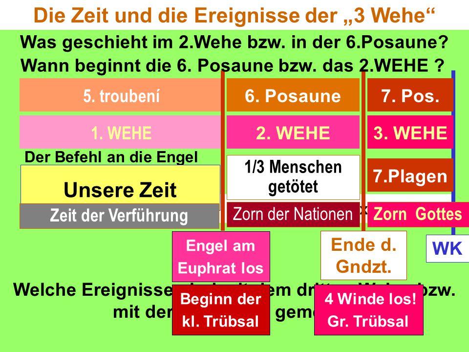 """Die Zeit und die Ereignisse der """"3 Wehe Unsere Zeit"""