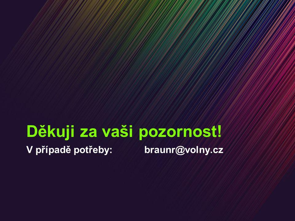 V případě potřeby: braunr@volny.cz