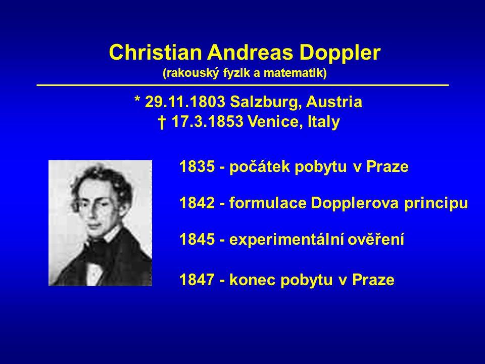 Christian Andreas Doppler (rakouský fyzik a matematik)