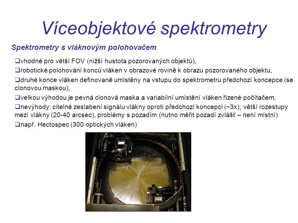 Víceobjektové spektrometry