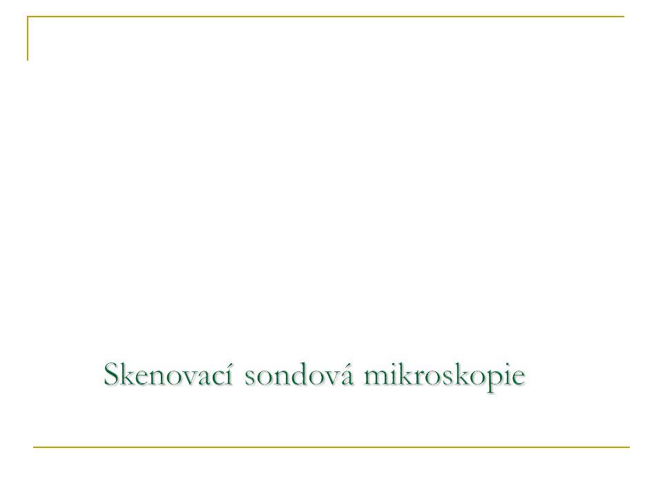 Skenovací sondová mikroskopie