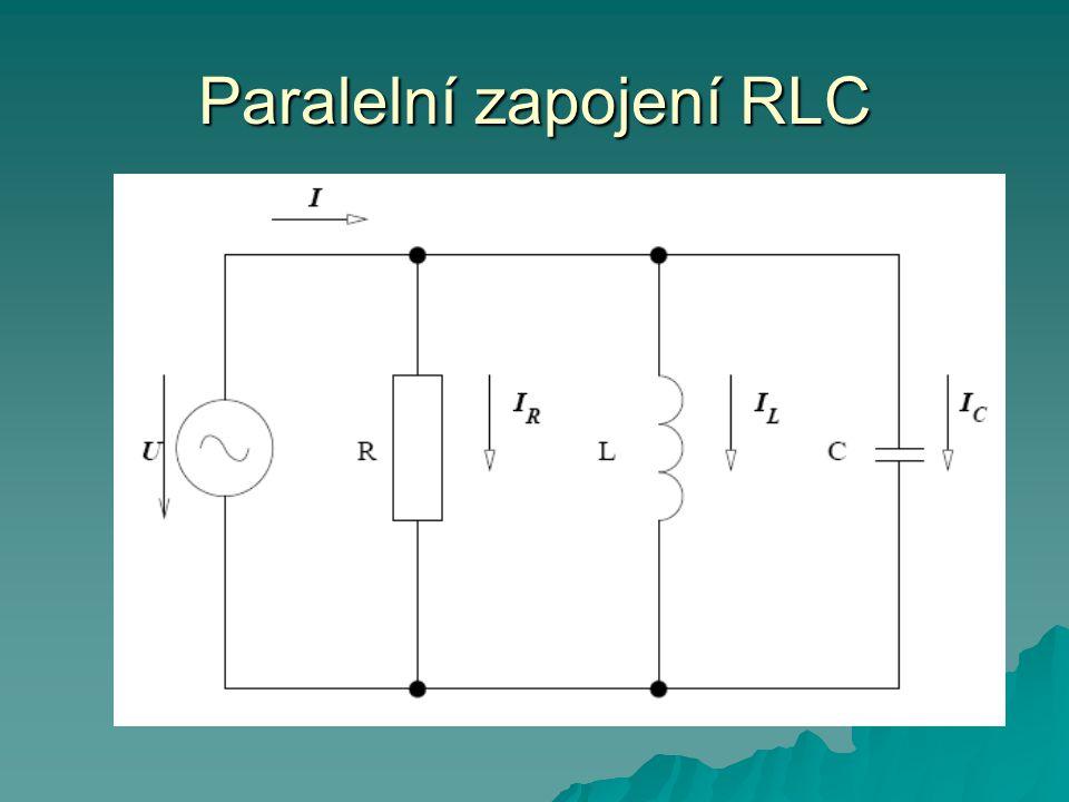 Paralelní zapojení RLC