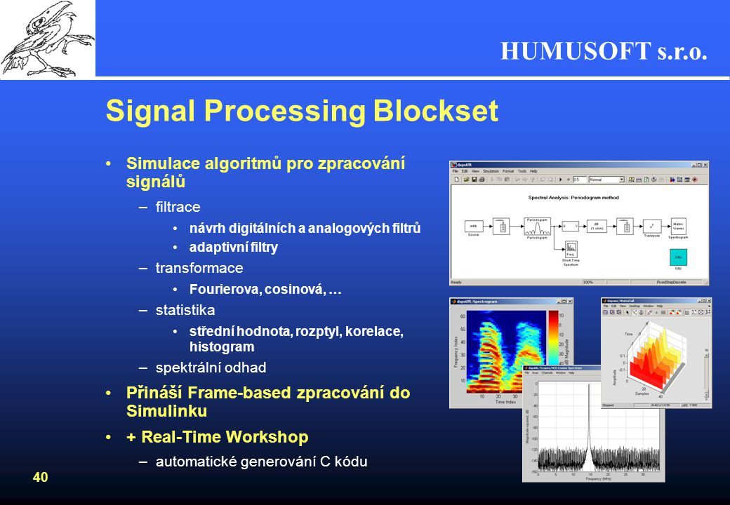Signal Processing Blockset