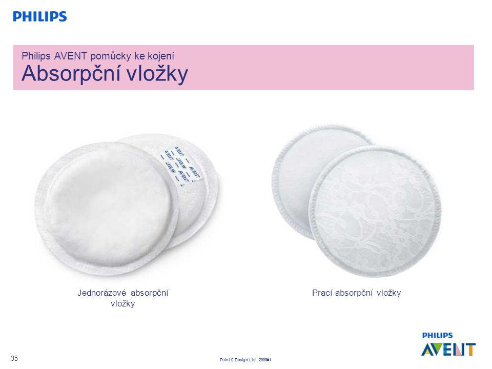 Philips AVENT pomůcky ke kojení Absorpční vložky