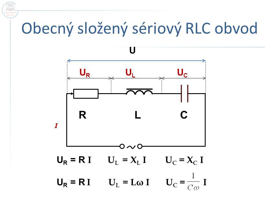 Obecný složený sériový RLC obvod