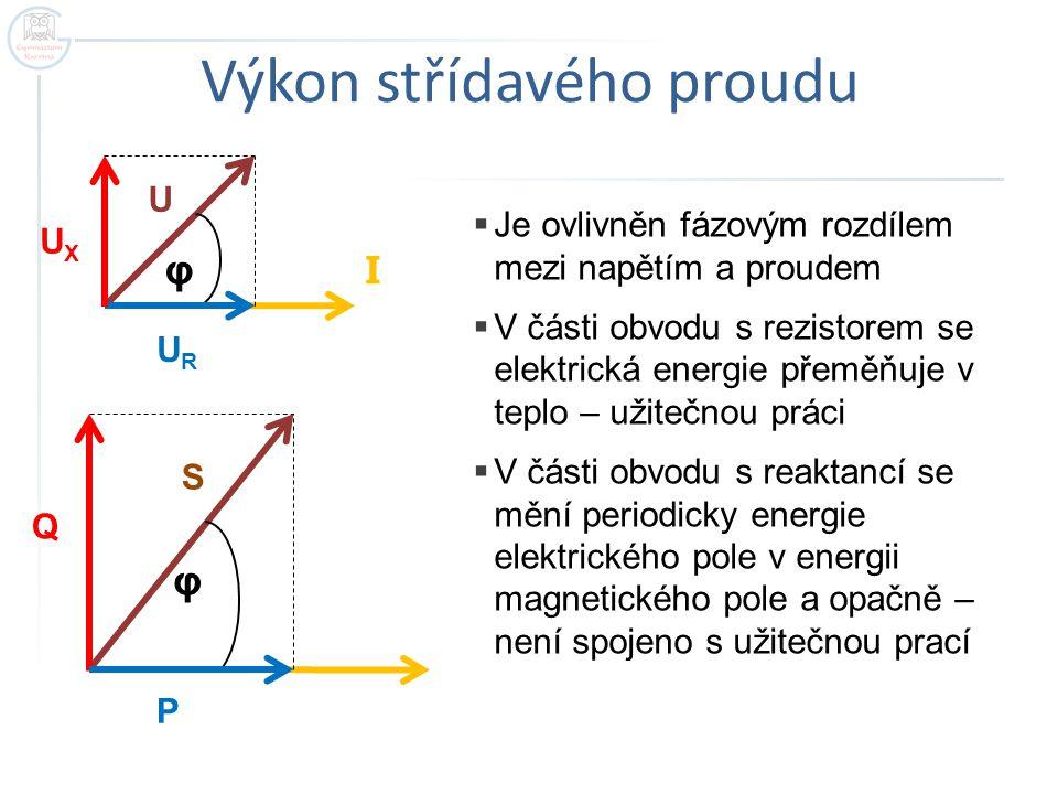 Výkon střídavého proudu