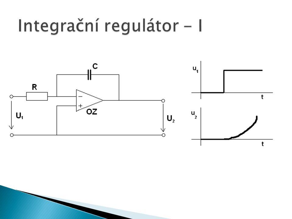 Integrační regulátor - I