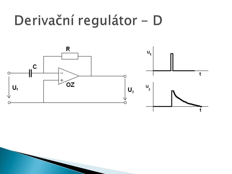 Derivační regulátor - D