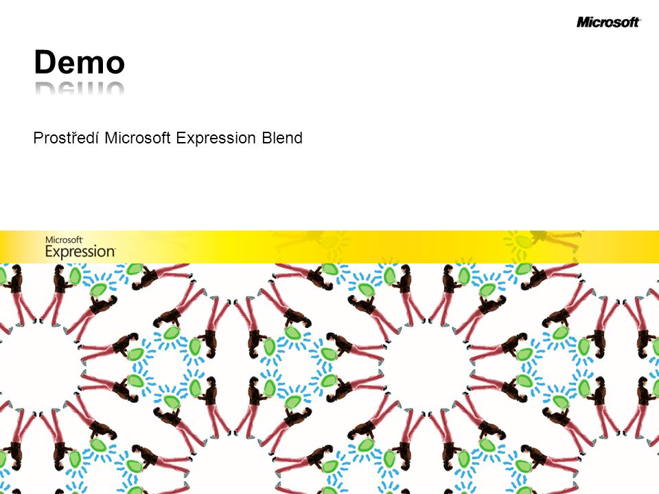 Prostředí Microsoft Expression Blend