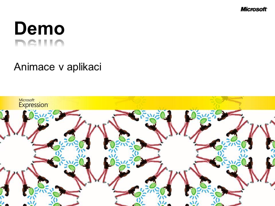Demo Animace v aplikaci