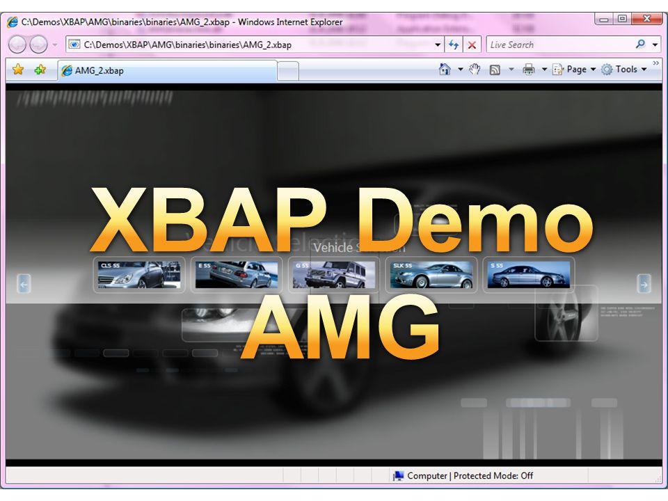 XBAP XBAP Demo AMG XBAP Demo – AMG2