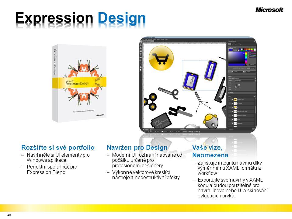 Expression Design Rozšiřte si své portfolio Navržen pro Design