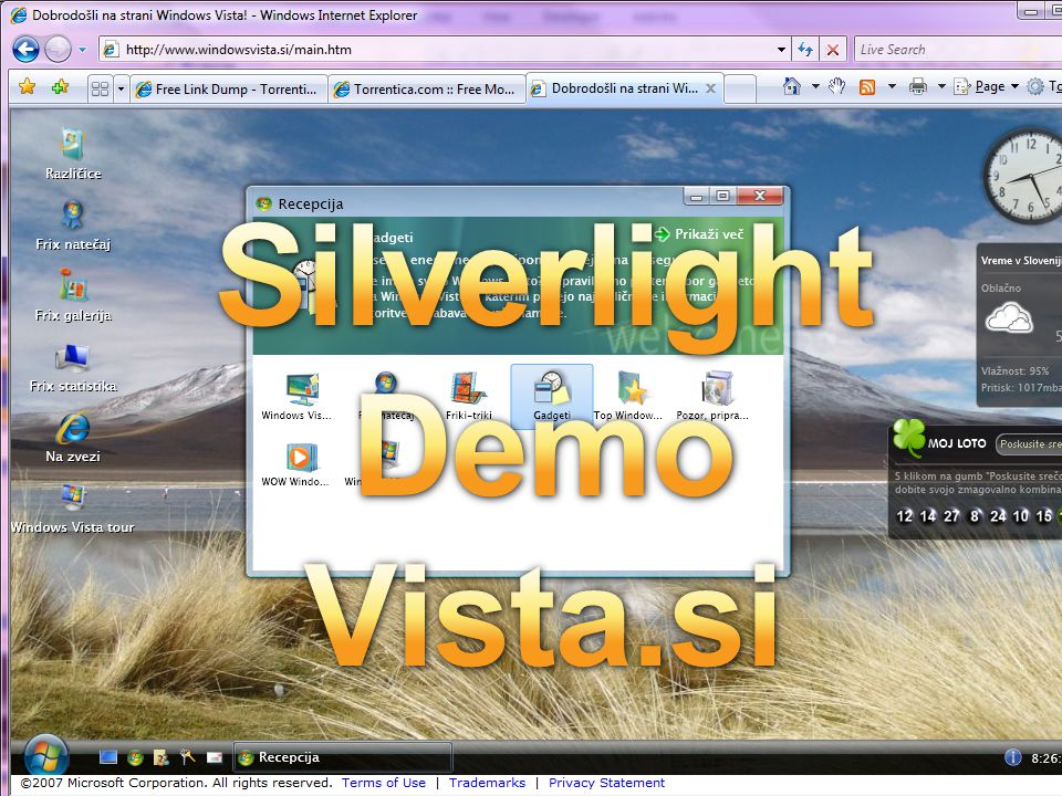 Silverlight Demo Vista.si