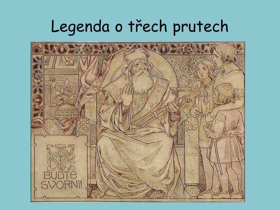 Legenda o třech prutech
