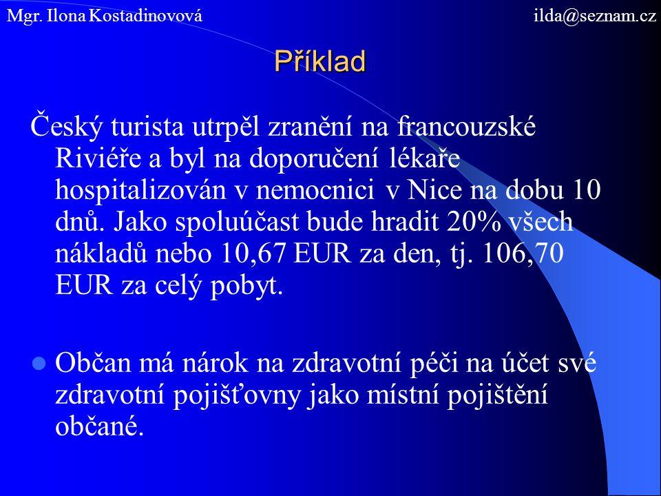 Mgr. Ilona Kostadinovová ilda@seznam.cz