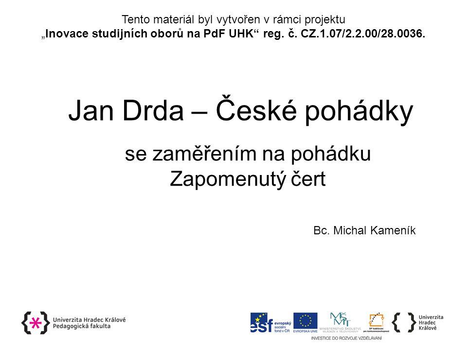 Jan Drda – České pohádky