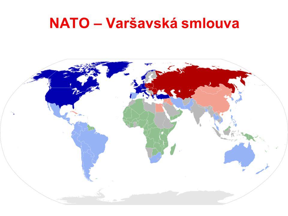 NATO – Varšavská smlouva