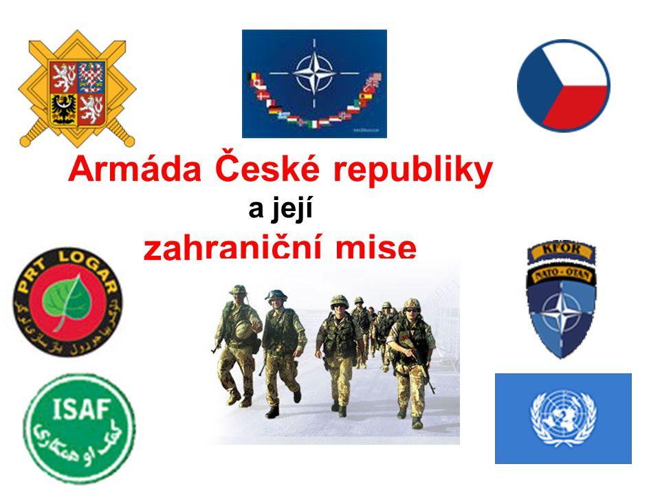 Armáda České republiky a její zahraniční mise