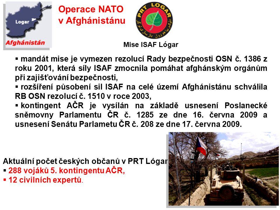 Operace NATO v Afghánistánu
