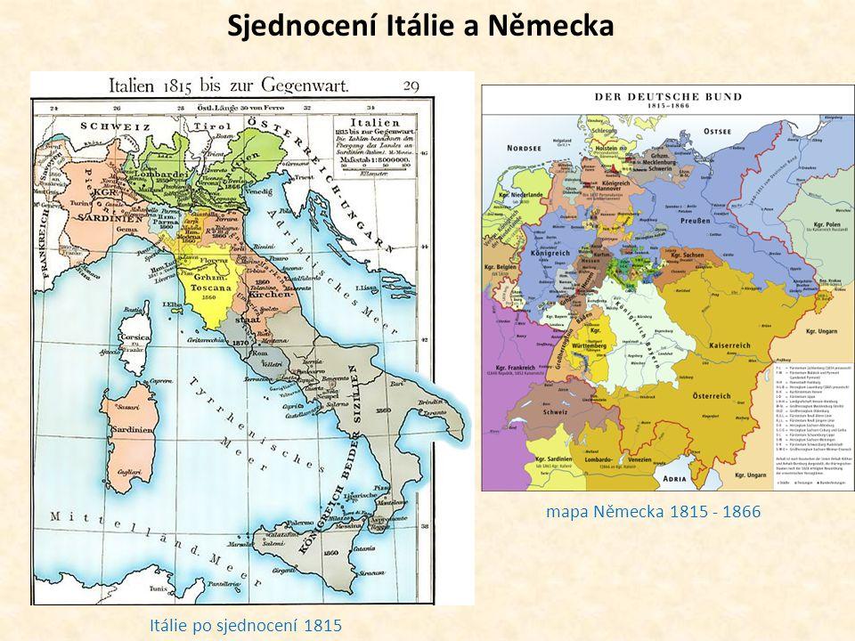 Sjednocení Itálie a Německa