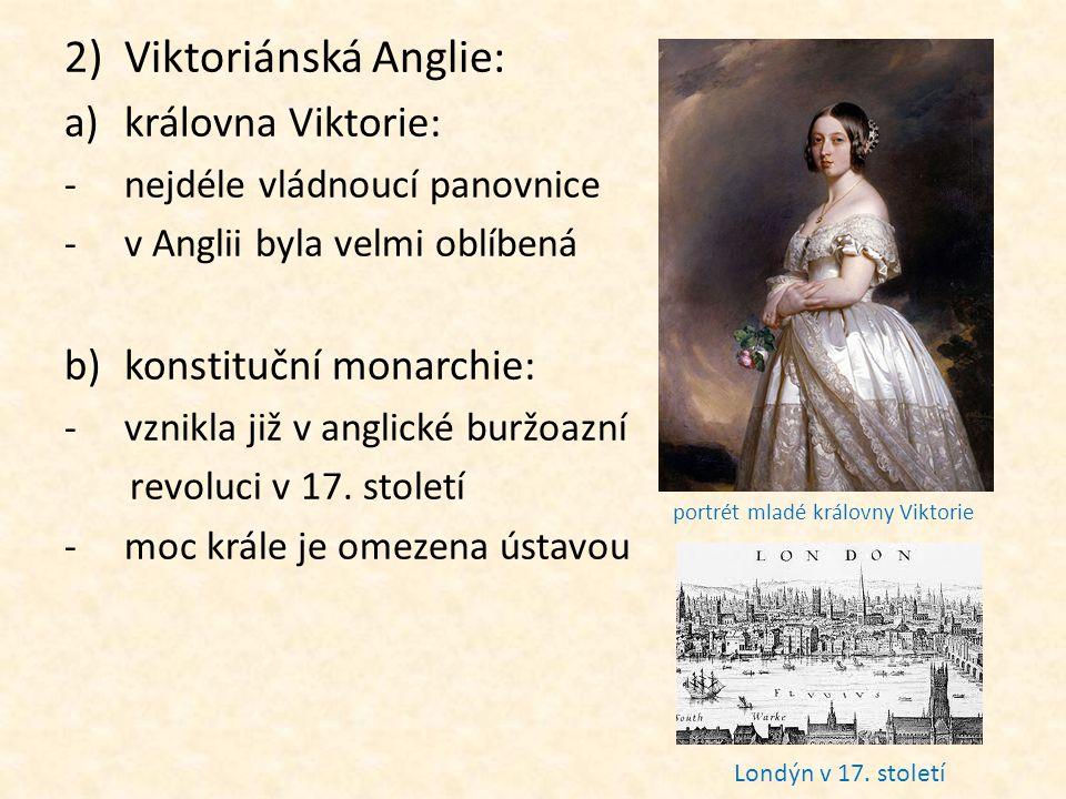 portrét mladé královny Viktorie
