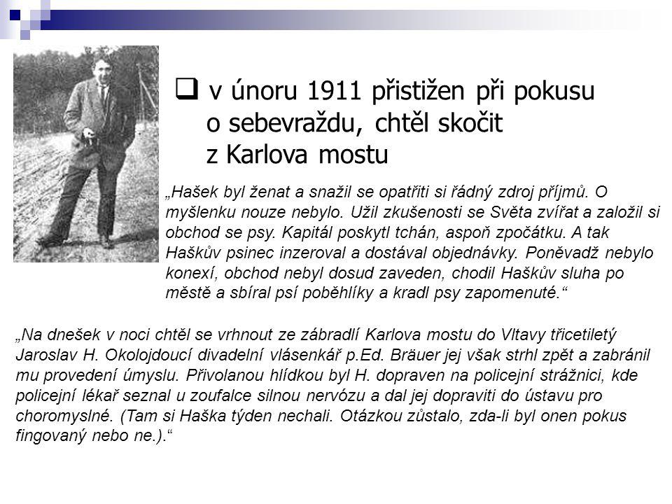 v únoru 1911 přistižen při pokusu