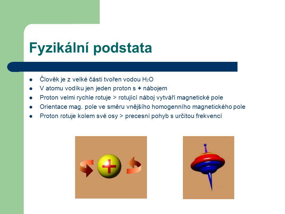 Fyzikální podstata Člověk je z velké části tvořen vodou H2O