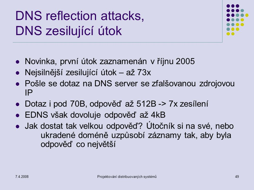 DNS reflection attacks, DNS zesilující útok