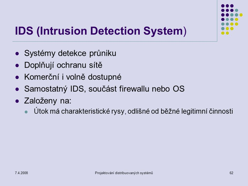 IDS (Intrusion Detection System)
