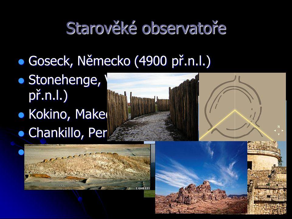 Starověké observatoře