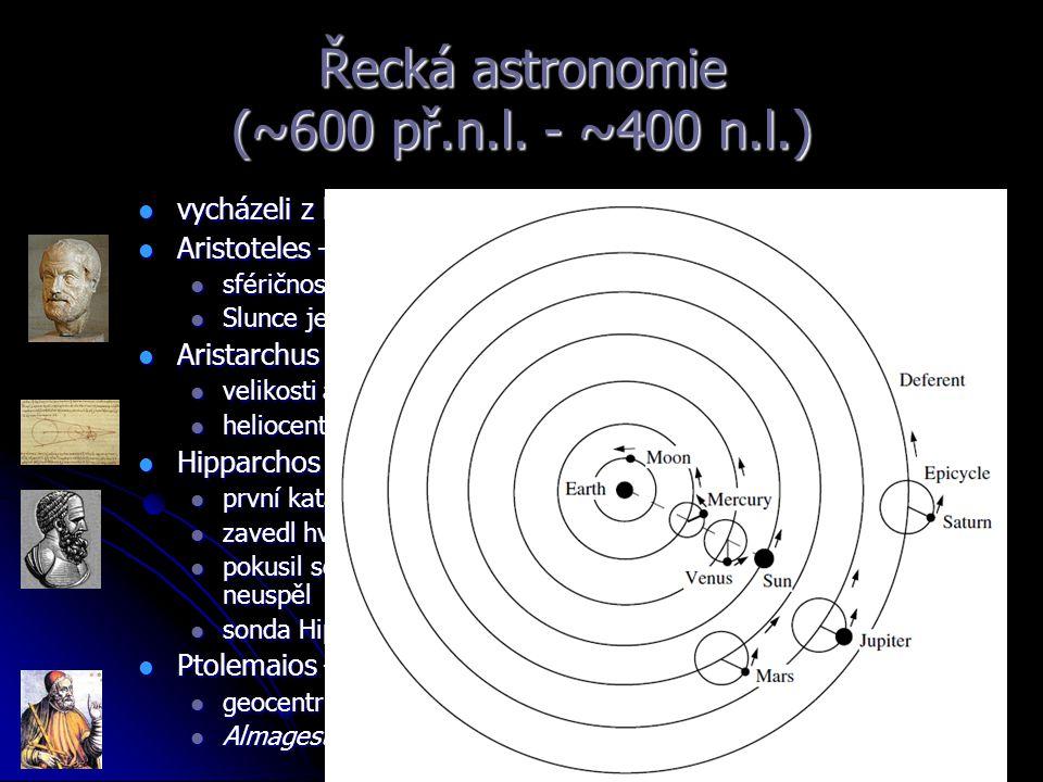 Řecká astronomie (~600 př.n.l. - ~400 n.l.)