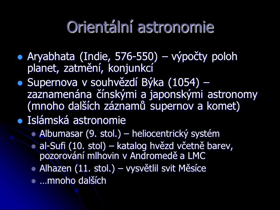 Orientální astronomie