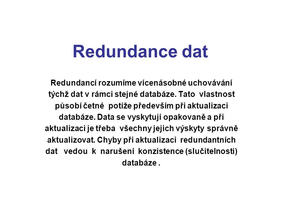 Redundance dat