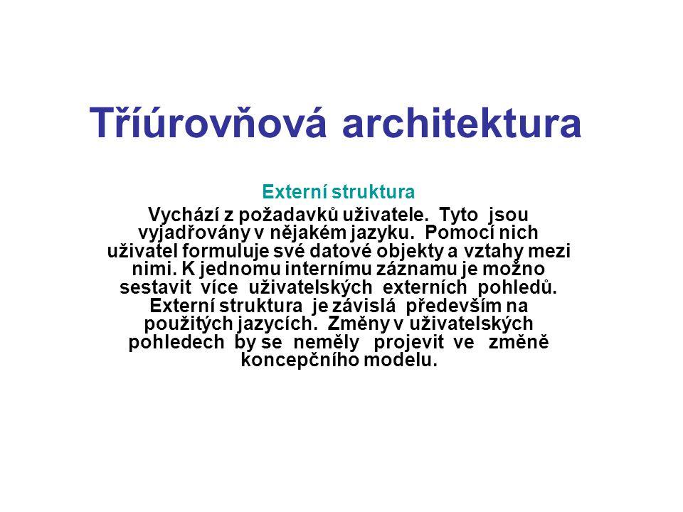 Tříúrovňová architektura