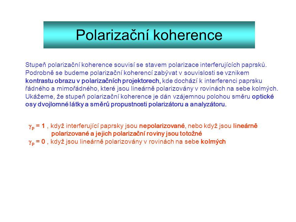 Polarizační koherence