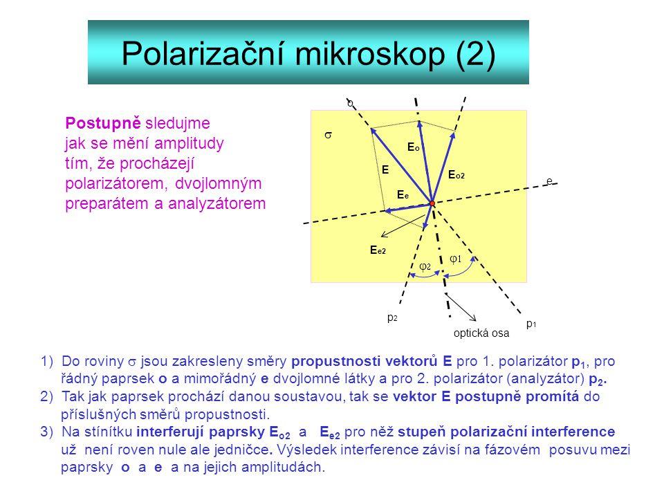 Polarizační mikroskop (2)