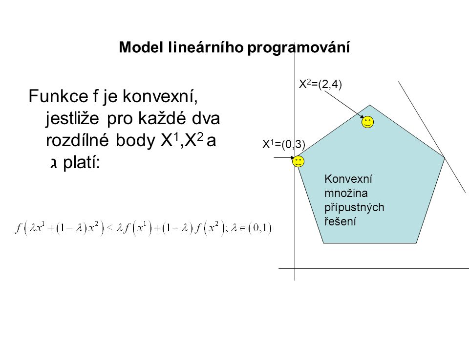 Model lineárního programování