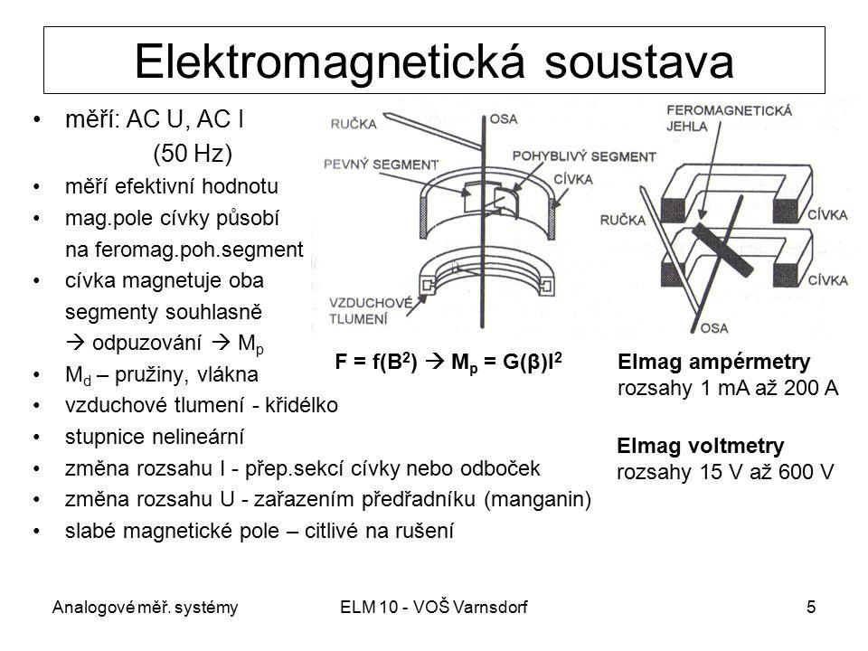 Elektromagnetická soustava