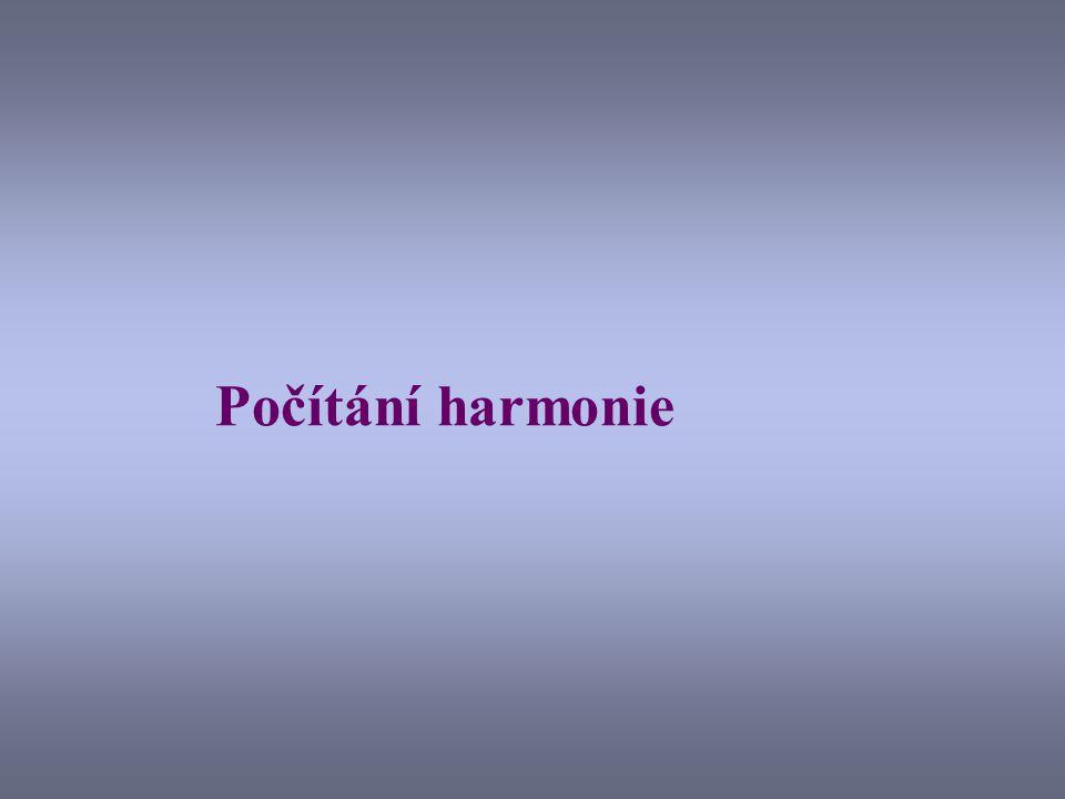 Počítání harmonie