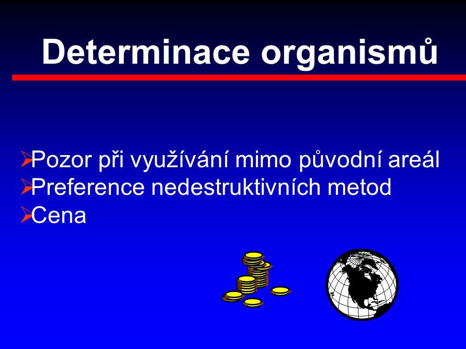Determinace organismů