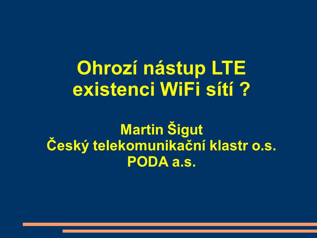 Ohrozí nástup LTE existenci WiFi sítí