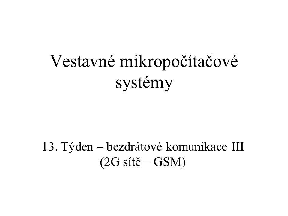 Vestavné mikropočítačové systémy