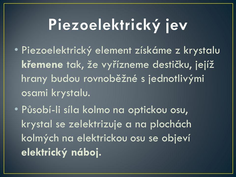 Piezoelektrický jev
