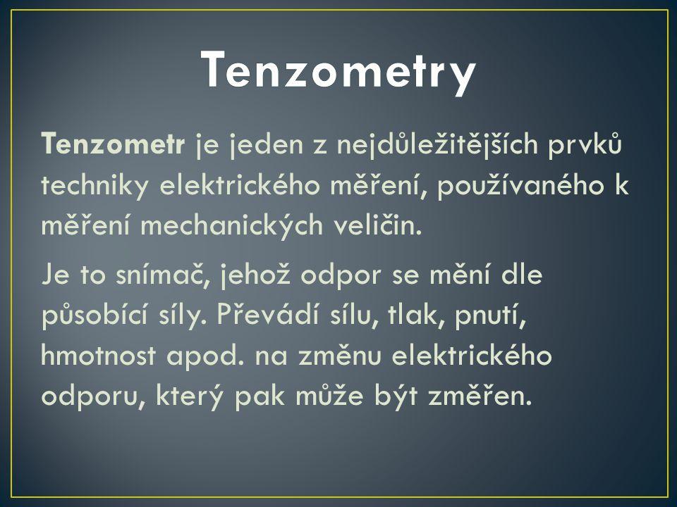 Tenzometry
