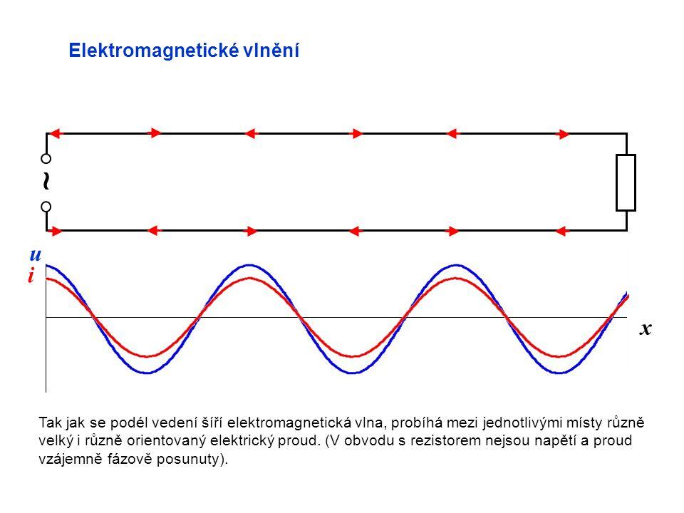 ~ u i x Elektromagnetické vlnění