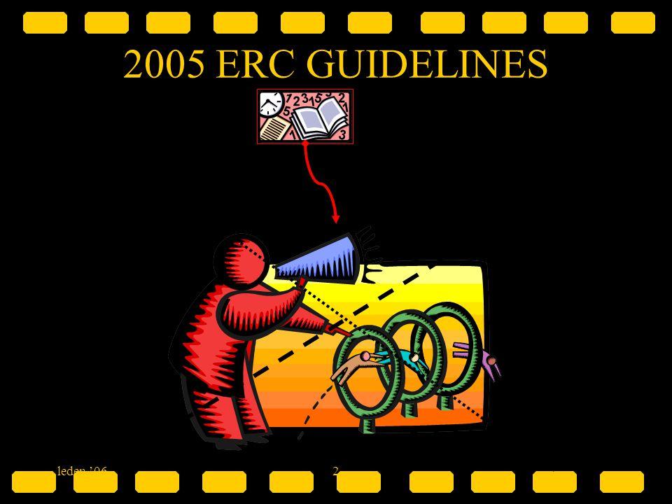2005 ERC GUIDELINES & leden '06 2