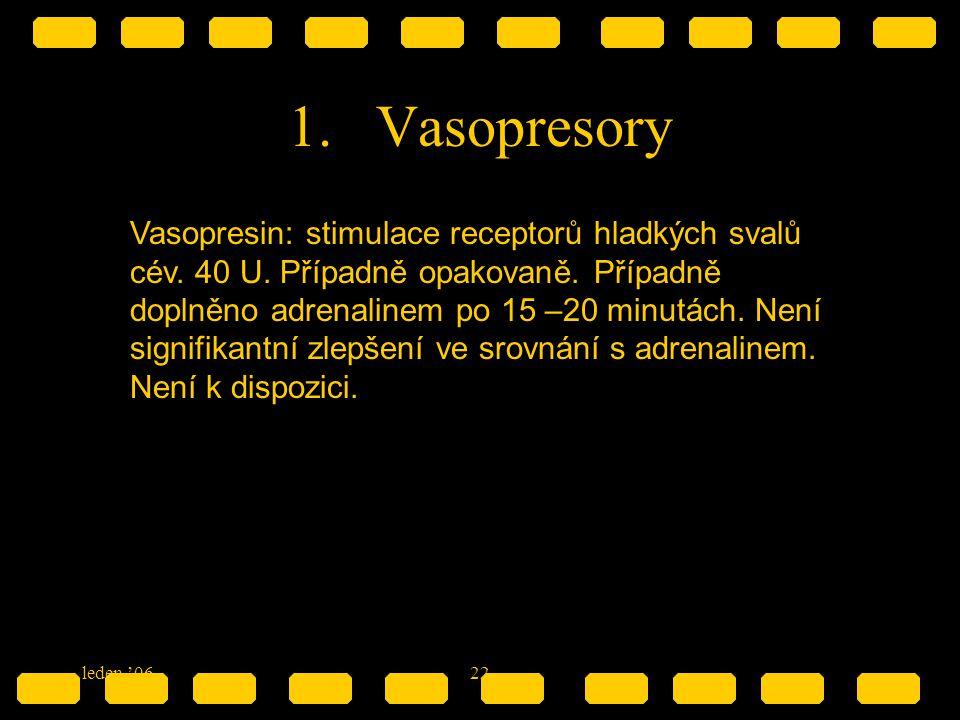 Vasopresory