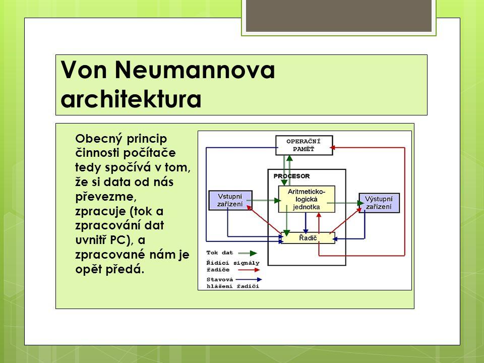 Von Neumannova architektura